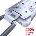 【CORESUIT】 CARABINER 風格手機扣環+i6 plus手機殼-白色 (CARABINERPLUSW)