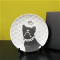【設計點】CACHE-CACHE-法國鬥牛犬系列9吋餐盤-TheRoyalHighness王子殿下(E00500104)