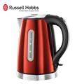 【Russell Hobbs 英國羅素】1.7L晶亮寶石快煮壺-寶石紅 (19341TW)