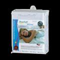 【Eversoft®寶貝墊】Premium美國原裝進口防水透氣防螨枕頭保潔墊-雙人特大180x210cm (A00001)