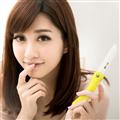【JoyLife】絢彩輕巧陶瓷摺疊刀水果刀(馬卡龍黃) (MF0227Y)