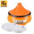 【鍋寶】塔吉鍋送強化耐熱湯盤4件組 (EO-EC2508SBXTP)