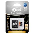 【十銓】16GB 300X MicroSDHC UHS-I 高速記憶卡(附轉卡) (CRTE-SDQ-016GU1)