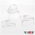 【生活采家】台灣製304不鏽鋼廚房蒸架3件組 (F01027149)