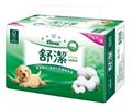 【舒潔】棉花萃取抽取式衛生紙90抽*8包*8串/箱 (ECC000263)