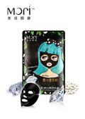 【水漾膜麗】Mori魔法黑美姬-緊緻彈力黑面膜(5片*6盒) (3811)