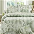 【Arnold Palmer雨傘牌】綠經典皇室-40紗精梳純棉床罩雙人七件組 (P042684860394)
