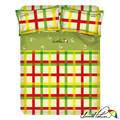 【Arnold Palmer雨傘牌】田園交響曲-40紗精梳純棉床包被套雙人四件組 (P042666701935)