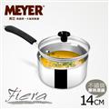 MEYER美國美亞 Fiera美饌系列不鏽鋼單柄湯鍋14CM(含蓋) (SET-77991) 限時半價