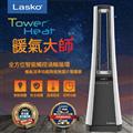 【美國Lasko】TowerHeat 暖氣大師-全方位智能觸控渦輪循環暖氣流多功能陶瓷電暖器 (AW300TW)