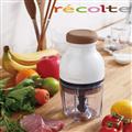 【recolte 日本麗克特】Quatre 時尚小型冰沙食物調理機-珍珠白 (RCP-W)