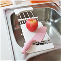 【ikloo宜酷屋】不鏽鋼廚房砧板瀝水架 (KSF06)