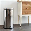 【ikloo宜酷屋】不鏽鋼腳踏垃圾桶-30L(台灣製造) (PB07D)