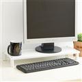 【ikloo宜酷屋】省空間桌上螢幕架/鍵盤架1入(4色可選) (OA127-1)