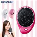 【KOIZUMI小泉成器】Reset Brush 音波振動磁氣美髮梳 攜帶款附收納袋(3色可選) (KZ-KZB-0020)