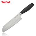 【法國特福Tefal】鈦釜系列18cm日式主廚刀 (K0910604)