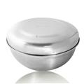 【304嚴選】不鏽鋼雙層含蓋隔熱碗1入(15cm隔熱碗/304嚴選-碗蓋) (BSD11529)