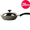 【清水】奈米鈦瓷釉鑄造小炒鍋28cm (MF0370S)