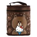 【Hello Kitty+LINE】熊大圓形保溫便當袋 (ML0250K)