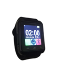 【iFace】藍芽觸控智慧手錶-黑色(加贈原廠保護貼) (Q1H-BK)