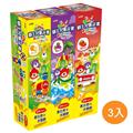 LION日本獅王 兒童牙膏45g×3入x3組 (54874705-24)