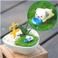 【迎光生技】汪星人多肉陶瓷植栽-巴哥犬 (4712176825054)