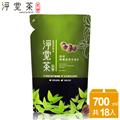 【茶寶 淨覺茶】天然茶籽碗盤蔬果洗潔液補充包(18入) (LX0005-018)
