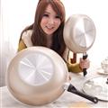 保麗晶 陶瓷不沾鍋黃金聚財雙鍋組 (BFB00002)