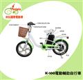 【Suniwin尚耘】國際環保電動自行車 (SK100)(螢光綠)