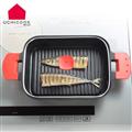 【逸品軒】UCHICOOK第二代日本製水蒸氣式健康蒸煮燒烤盤(玻璃蓋)