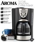 【AROMA】自動磨豆美式咖啡機 (ACM-900GB)