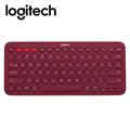 羅技 K380跨平台藍芽鍵盤-紅 (920-007656)