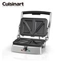 美國Cuisinart 美膳雅 二合一燒烤&三明治壓烤機 (E-GRSM2TW)4/14~4/30購買加送加送特福18CM平底鍋