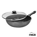 德國STONELINE 美食家系列原石炒鍋(含蓋)30cm (ST-18363)
