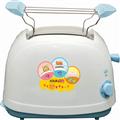 KRIA可利亞 烘烤二用笑臉麵包機(藍色) (KR-8002)
