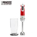 PRINCESS荷蘭公主 九段速手持食物調理攪拌棒-簡配組/紅 (TPRHA221203RS)
