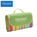 Horizon天際線 防潮沙灘野餐墊-附防水收納袋(彩虹綠) (HRZ-001RB)