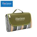 Horizon天際線 防潮沙灘野餐墊-附防水收納袋(軍裝綠) (HRZ-001GR)
