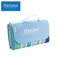 Horizon天際線 防潮沙灘野餐墊-附防水收納袋(天空藍) (HRZ-001BU)