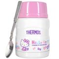 THERMOS膳魔師 Hello Kitty不鏽鋼真空食物燜燒罐/食物罐470ml-蝴蝶結篇 (MF0121RB)