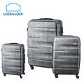 新品獨家LOCK&LOCK樂扣樂扣行李箱3件組-鐵灰(20吋+24吋+28吋) (1B01LTZ928BTSAS)