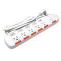 群加Power Sync 5開6插安全防塵延長線1.8米 (PW-EDA5618-E)