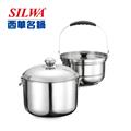 SLIWA西華 西華免火再煮鍋7L(原色)#304 (ESW-007L-1)