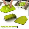 金德恩 台灣製造兩用可摺疊瀝水砧板 (GS00655)