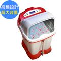 【勳風】豪宅級加熱式SPA足浴泡腳機-紅色 (HF-3758)