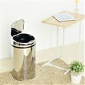 【ikloo宜酷屋】不鏽鋼智能感應式垃圾桶-12L (PBL89)