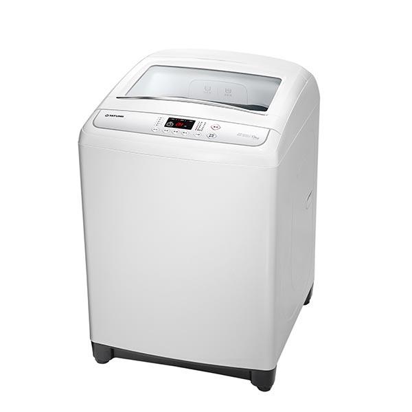 【白色系列家電】白色能量智慧洗淨衣如新【TATUNG大同】13KG定頻洗衣機 (TAW-A130J)