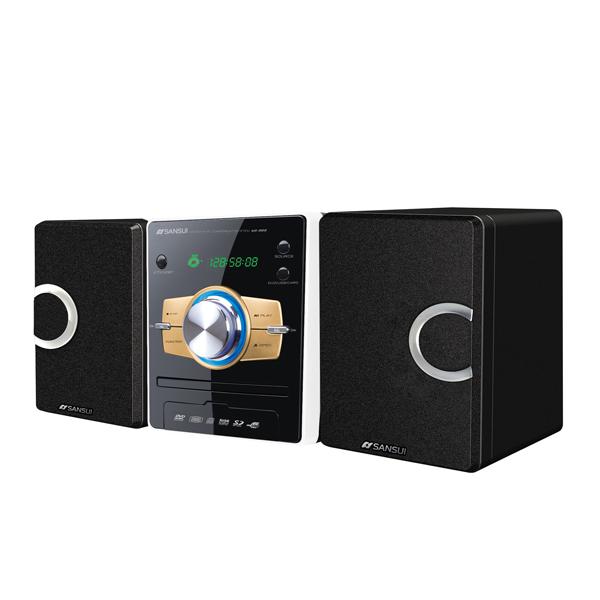 山水SANSUI 藍芽數位DVD床頭音響組 (MS-655)