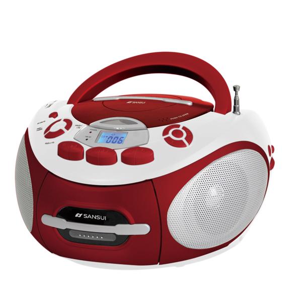 山水SANSUI 手提錄音式CD/卡帶音響 (SC-85C)