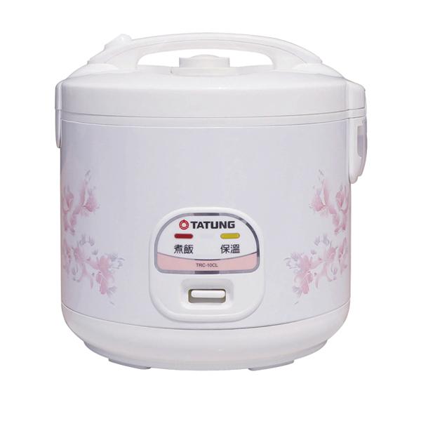 【TATUNG大同】機械式電子鍋10人份(福利品) (TRC-10CL)